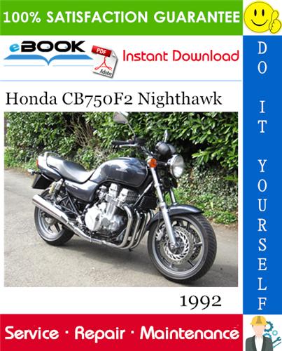 Thumbnail ☆☆ Best ☆☆ 1992 Honda CB750F2 Nighthawk Motorcycle Service Repair Manual