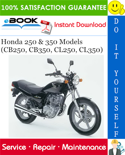 Thumbnail ☆☆ Best ☆☆ Honda 250 & 350 Models (CB250, CB350, CL250, CL350) Motorcycle Service Repair Manual
