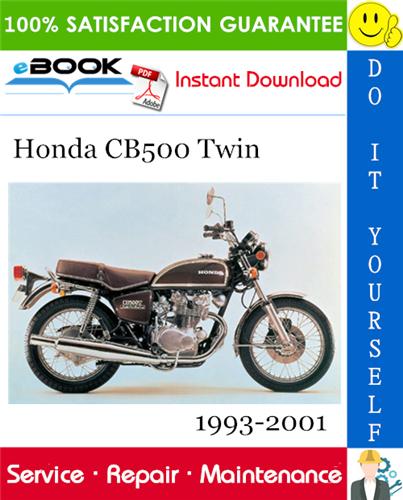Thumbnail ☆☆ Best ☆☆ Honda CB500 Twin Motorcycle Service Repair Manual 1993-2001 Download