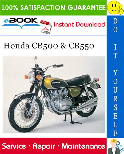 Thumbnail ☆☆ Best ☆☆ Honda CB500 & CB550 Motorcycle Service Repair Manual