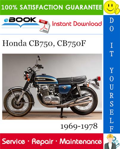 Thumbnail ☆☆ Best ☆☆ Honda CB750, CB750F Motorcycle Service Repair Manual 1969-1978 Download