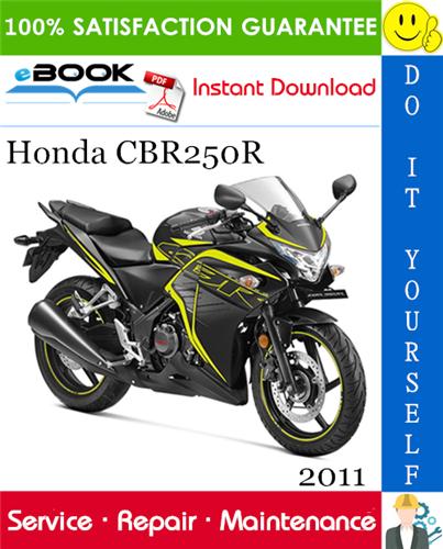 Thumbnail ☆☆ Best ☆☆ 2011 Honda CBR250R Motorcycle Service Repair Manual