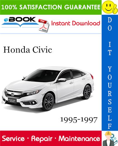 Thumbnail ☆☆ Best ☆☆ Honda Civic Service Repair Manual 1995-1997 Download