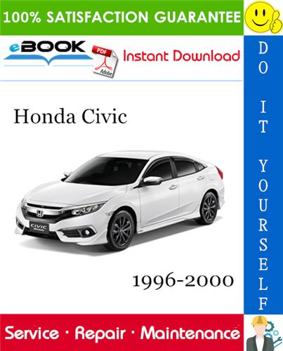 Thumbnail ☆☆ Best ☆☆ Honda Civic Service Repair Manual 1996-2000 Download