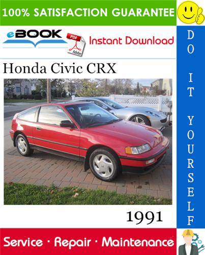 Thumbnail ☆☆ Best ☆☆ 1991 Honda Civic CRX Service Repair Manual