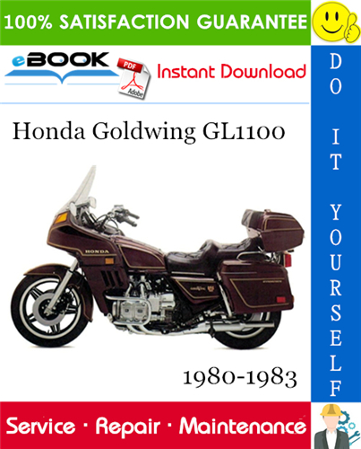 Thumbnail Honda Goldwing GL1100 Motorcycle Service Repair Manual 1980-1983 Download