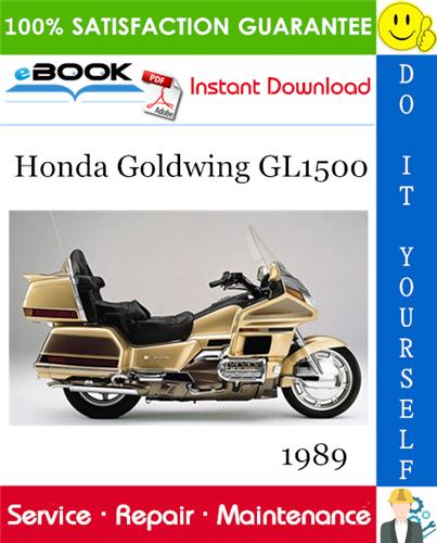 Thumbnail 1989 Honda Goldwing GL1500 Motorcycle Service Repair Manual