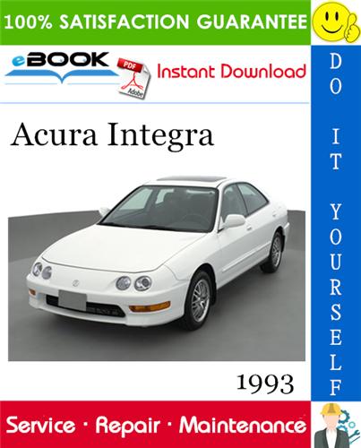 Thumbnail 1993 Acura Integra Service Repair Manual