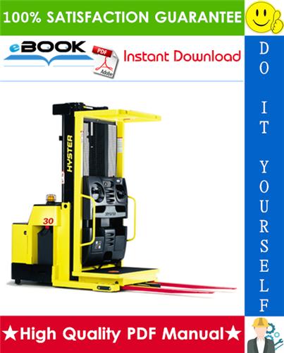 Thumbnail ☆☆ Best ☆☆ Hyster R30E, R30EA, R30EF, R35E (D118) Electric Reach Trucks Service Repair Manual