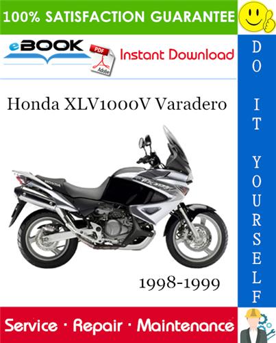 Thumbnail ☆☆ Best ☆☆ Honda XLV1000V Varadero Motorcycle Service Repair Manual 1998-1999 Download