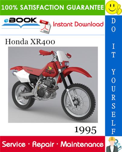Thumbnail ☆☆ Best ☆☆ 1995 Honda XR400 Motorcycle Service Repair Manual