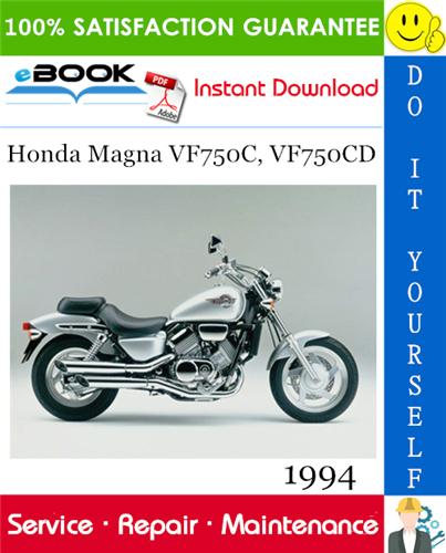 Thumbnail ☆☆ Best ☆☆ 1994 Honda Magna VF750C, VF750CD Motorcycle Service Repair Manual