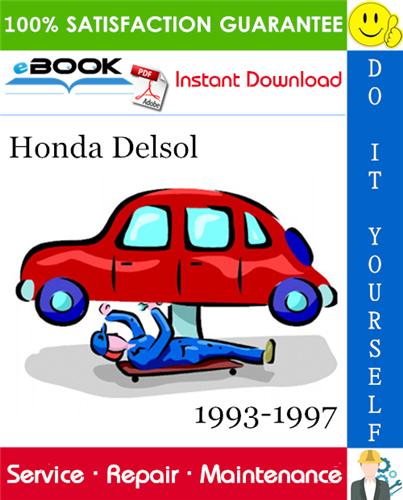 Thumbnail ☆☆ Best ☆☆ Honda Delsol Service Repair Manual 1993-1997 Download