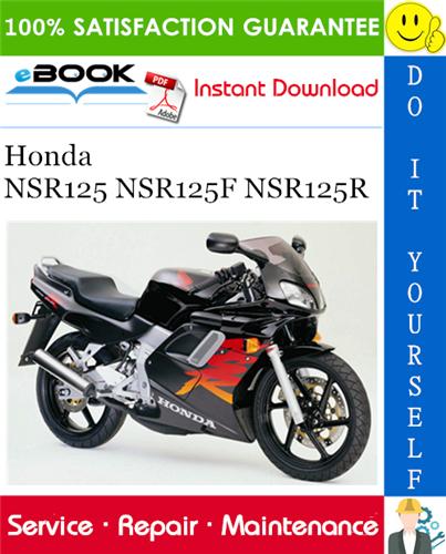 Thumbnail ☆☆ Best ☆☆ Honda NSR125 NSR125F NSR125R Motorcycle Service Repair Manual