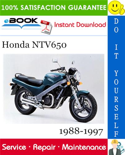Thumbnail ☆☆ Best ☆☆ Honda NTV650 Motorcycle Service Repair Manual 1988-1997 Download