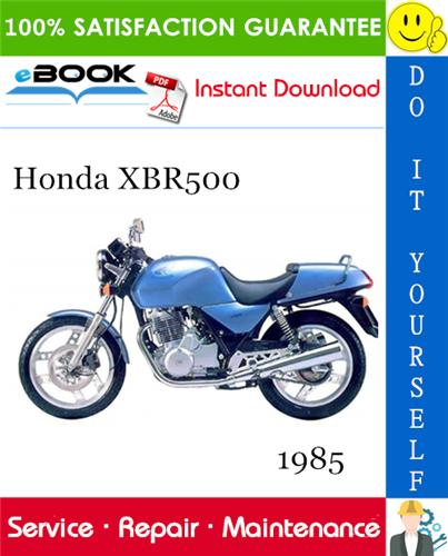 Thumbnail ☆☆ Best ☆☆ 1985 Honda XBR500 Motorcycle Service Repair Manual