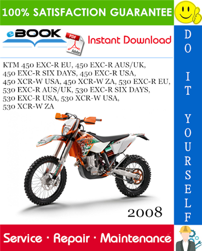Thumbnail ☆☆ Best ☆☆ 2008 KTM 450 EXC-R EU, 450 EXC-R AUS/UK, 450 EXC-R SIX DAYS, 450 EXC-R USA, 450 XCR-W USA, 450 XCR-W ZA, 530 EXC-R EU, 530 EXC-R AUS/UK, 530 EXC-R SIX DAYS, 530