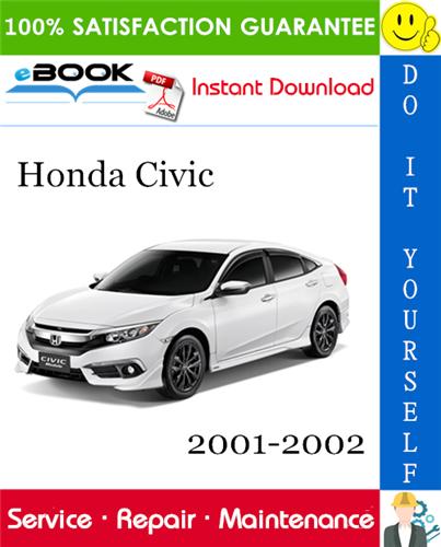 Thumbnail ☆☆ Best ☆☆ Honda Civic Service Repair Manual 2001-2002 Software Download