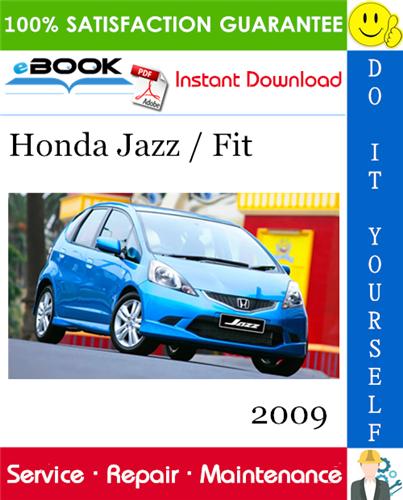 Thumbnail ☆☆ Best ☆☆ 2009 Honda Jazz / Fit Service Repair Manual Software