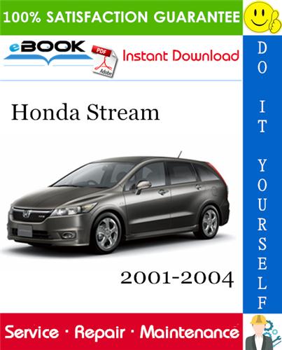 Thumbnail ☆☆ Best ☆☆ Honda Stream Service Repair Manual 2001-2004 Software Download