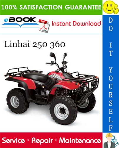Thumbnail ☆☆ Best ☆☆ Linhai 250 360 ATV Service Repair Manual