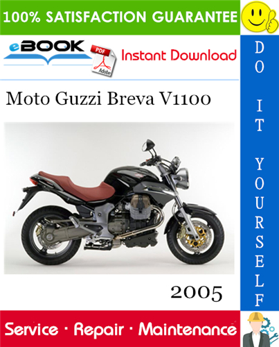 Thumbnail ☆☆ Best ☆☆ 2005 Moto Guzzi Breva V1100 Motorcycle Service Repair Manual
