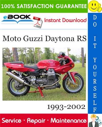 Thumbnail ☆☆ Best ☆☆ Moto Guzzi Daytona RS Motorcycle Service Repair Manual 1993-2002 Download