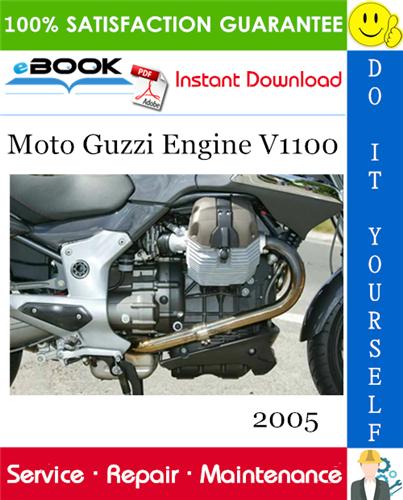 Thumbnail ☆☆ Best ☆☆ Moto Guzzi Engine V1100 Service Repair Manual