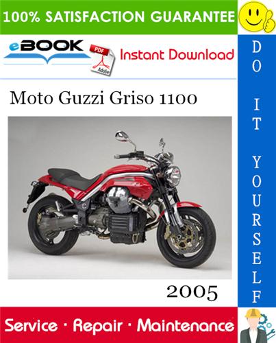 Thumbnail 2005 Moto Guzzi Griso 1100 Motorcycle Service Repair Manual