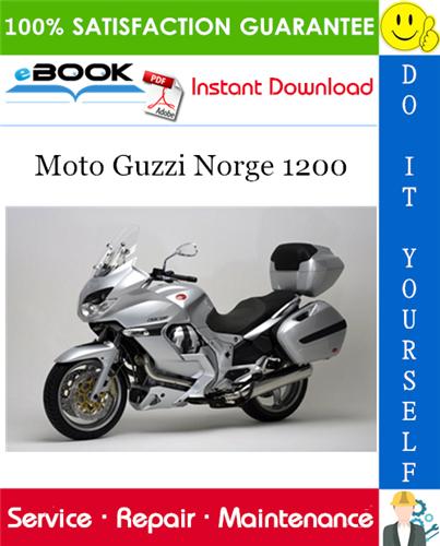 Thumbnail ☆☆ Best ☆☆ Moto Guzzi Norge 1200 Motorcycle Service Repair Manual