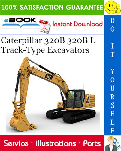Thumbnail ☆☆ Best ☆☆ Caterpillar 320B 320B L Track-Type Excavators Parts Manual
