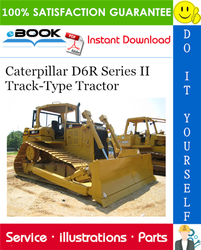 Thumbnail ☆☆ Best ☆☆ Caterpillar D6R Series II Track-Type Tractor Parts Manual