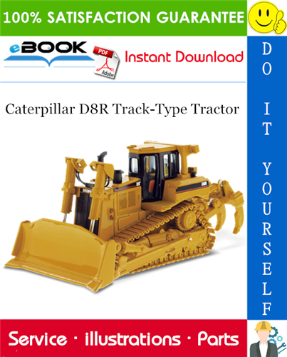 Thumbnail ☆☆ Best ☆☆ Caterpillar D8R Track-Type Tractor Parts Manual