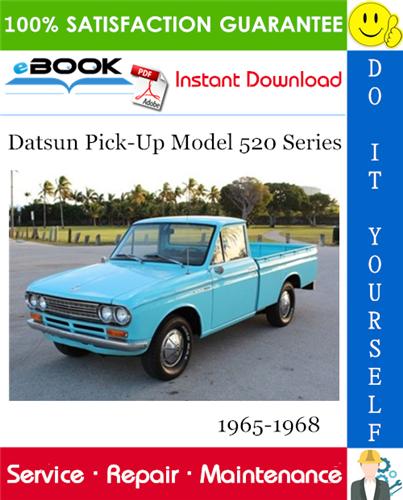 Thumbnail Datsun Pick-Up Model 520 Series Service Repair Manual 1965-1968 Download