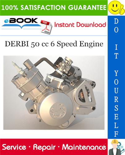 Thumbnail ☆☆ Best ☆☆ DERBI 50 cc 6 Speed Engine Service Repair Manual