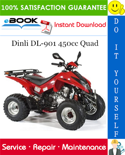 Thumbnail ☆☆ Best ☆☆ Dinli DL-901 450cc Quad ATV Service Repair Manual