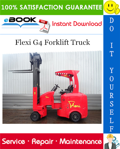 Thumbnail ☆☆ Best ☆☆ Flexi G4 Forklift Truck Service Repair Manual