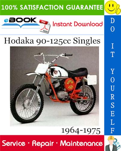 Thumbnail ☆☆ Best ☆☆ Hodaka 90-125cc Singles Motorcycle Service Repair Manual 1964-1975 Download