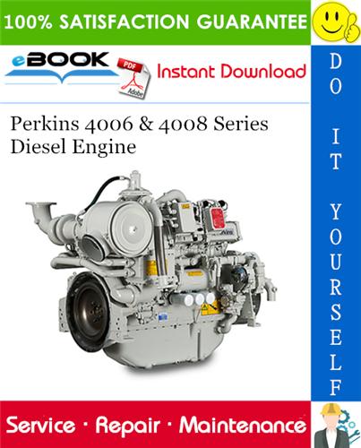 Thumbnail ☆☆ Best ☆☆ Perkins 4006 & 4008 Series Diesel Engine Service Repair Manual