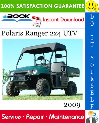 Thumbnail ☆☆ Best ☆☆ 2009 Polaris Ranger 2x4 UTV Service Repair Manual