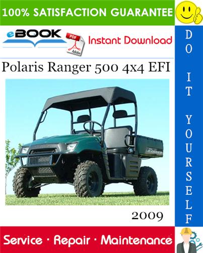 Thumbnail ☆☆ Best ☆☆ 2009 Polaris Ranger 500 4x4 EFI UTV Service Repair Manual