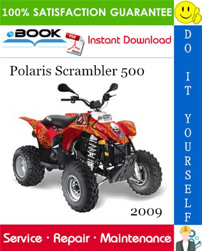 Thumbnail ☆☆ Best ☆☆ 2009 Polaris Scrambler 500 ATV Service Repair Manual