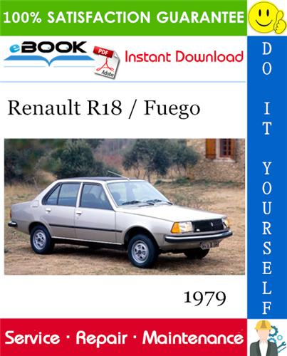 Thumbnail ☆☆ Best ☆☆ 1979 Renault R18 / Fuego Service Repair Manual