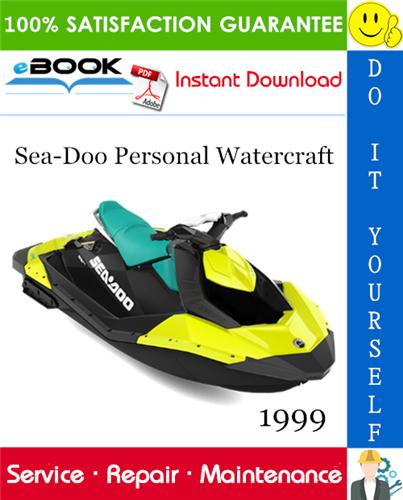 Thumbnail ☆☆ Best ☆☆ 1999 Sea-Doo Personal Watercraft Service Repair Manual