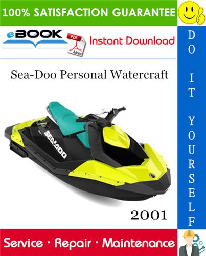 Thumbnail ☆☆ Best ☆☆ 2001 Sea-Doo Personal Watercraft Service Repair Manual