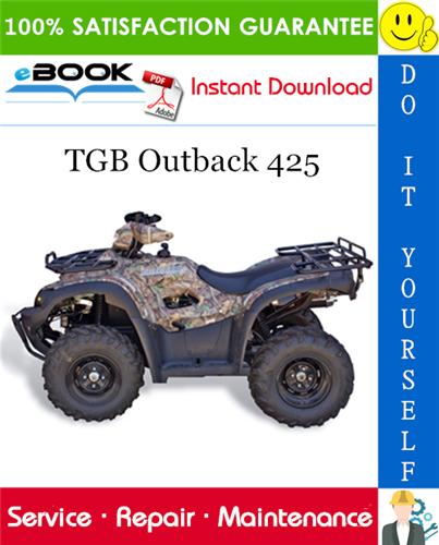 Thumbnail ☆☆ Best ☆☆ TGB Outback 425 ATV Service Repair Manual