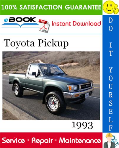 Thumbnail ☆☆ Best ☆☆ 1993 Toyota Pickup Service Repair Manual