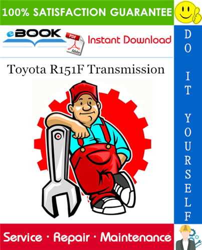 Thumbnail ☆☆ Best ☆☆ Toyota R151F Transmission Service Repair Manual