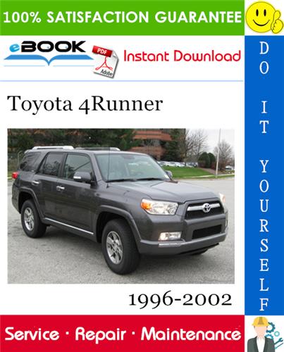 Thumbnail ☆☆ Best ☆☆ Toyota 4Runner Service Repair Manual 1996-2002 Download