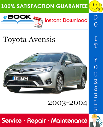 Thumbnail ☆☆ Best ☆☆ Toyota Avensis Service Repair Manual 2003-2004 Software Download (ISO Format)